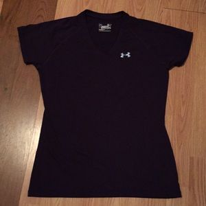 Under Armour V-neck Fitted Top